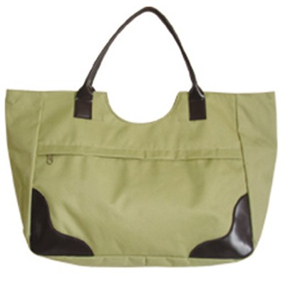 New Style Beach Tote Bag With A Front Pocket