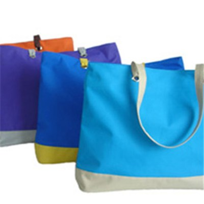 Colourful Beach Bag Tote Bag