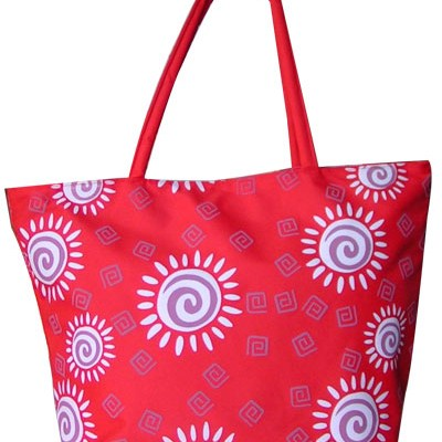 New Style Sunflower Printed Beach Tote Bag