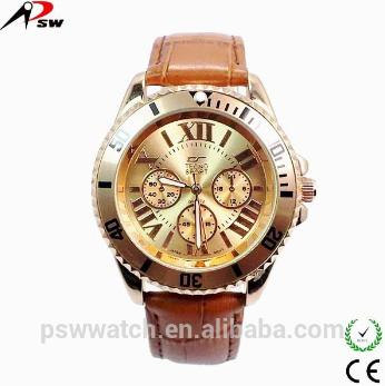 Men Leather Watch