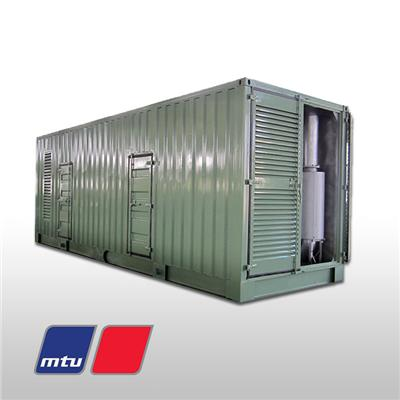 Containerized Standby Mtu Diesel Gensets