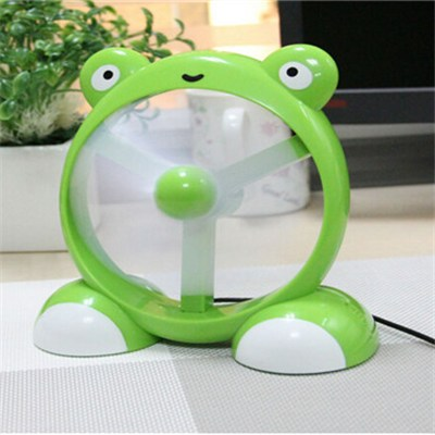 Portable Cartoon Mini Electric Fan Usb Desk Fan (LJQ-061)