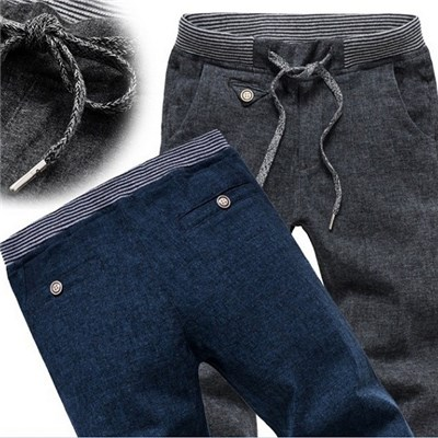 Men''s Cotton And Linen Of New Fund Of 2015 Autumn Winters Is Recreational Pants, Sports Leisure Korean Cultivate One''s Morality Men''s Trousers,Welcome To Sample Custom