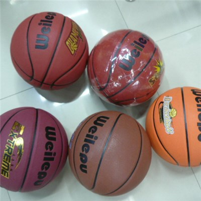 2015 High Quality Authentic Basketball Leather Moisture Absorption Can Be Customized LOGO,Welcome To Sample Custom