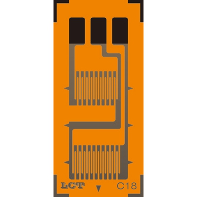 Dual-grid Linear Pattern Strain Gauge GB-A