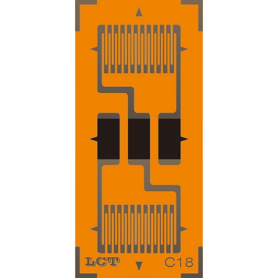 Dual-grid Linear Pattern Strain Gauge GB-B
