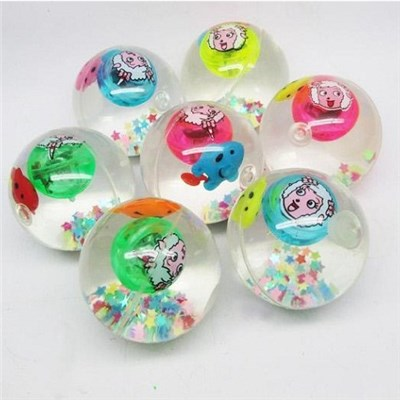 2015 Creative Light Transparent Crystal Bounce Ball Children''s Educational Toys,Welcome To Sample Custom