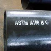 ASTM A106B Seamless Carbon Steel Pipe For High Temperature Service