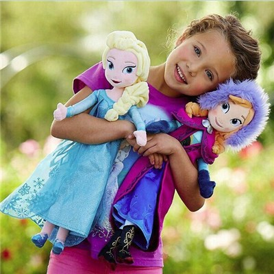 2015 Disney Adventures In The Original Ice Colors Plush Toys, Princess Anna Elsa Anna Plush Toys,Welcome To Sample Custom