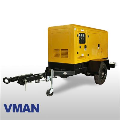 Movable Standby Vman Diesel Gensets