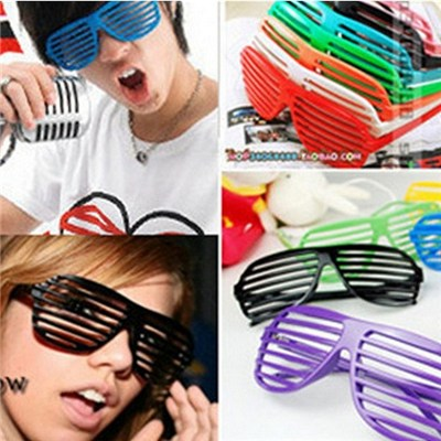 2015 Creative Shutter Glasses, Party Acting Masquerade Party Glasses, Personality Of Glasses,Welcome To Sample Custom