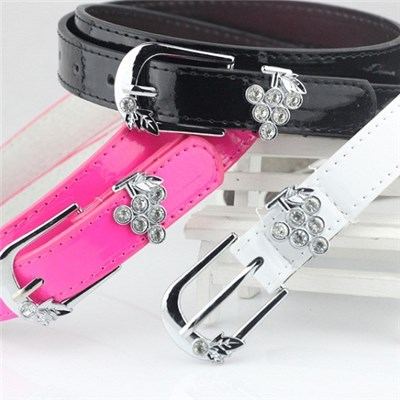 Women''s Fashion Leisure Set Auger Belt, Ladies'' Belt Alloy Buckle Belts,Welcome To Sample Custom