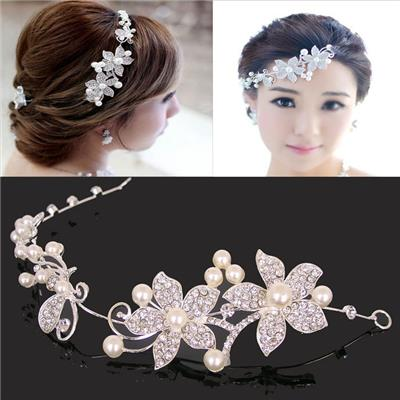 2015 The New Bride Adorn Article, Hit The Bride Married Hair Accessories, Korean Headdress Alloy Soft Chain,Welcome To Sample Custom