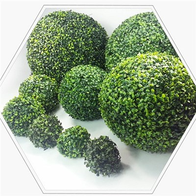 Green Plants Handicraft Decoration Delicate Grass Ball, Store Decoration Simulation Grass Ball,Welcome To Sample Custom