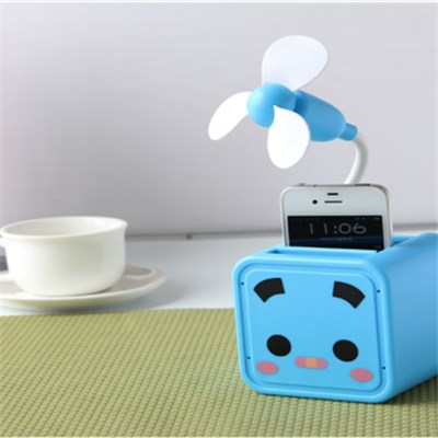 USB Portable Battery Mini Personal Fan (LJQ-069)