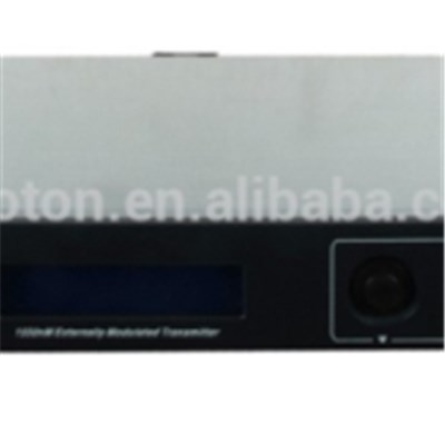 1U 1550nm External Modulated Transmitter