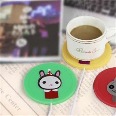 LJW-065 Mini Mat Coffee Cup Warmer Coaster