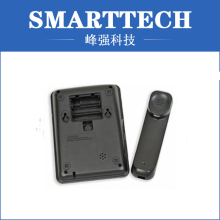 Black Color ABS Telephone Shell Plastic Injection Mould