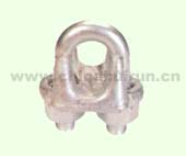 U.S. TYPE DROP FORGED WIRE ROPE CLIP H.D.G.