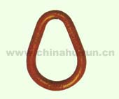 WELDLESS PEAR SHAPED LINK Forged Alloy Steel Or Carbon Steel Painted Red