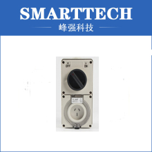 Fan Wall Plastic Switch Injection Mould