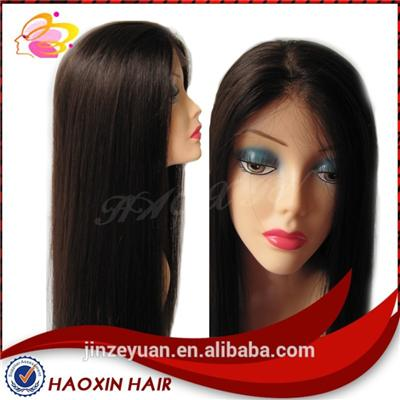 Natural Color Straight Full Lace Wig
