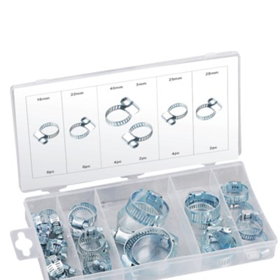 26PC HOSE CLAMP ASSORTMENT