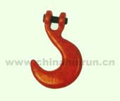 CONTAINER HOOK Forged Alloy Steel Painted Red
