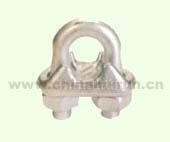 EUROPEAN TYPE DROP FORGED WIRE ROPE CLIP H.D.G.