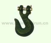 AUSTRALIAN CLEVIS GRAB HOOK Forged Carbon Steel Self Colored Or Zinc Plated