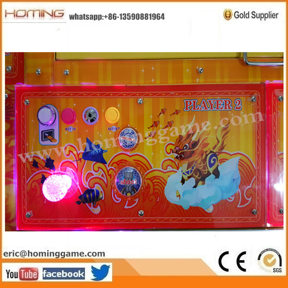 100% English Version Arcade Fire Kylin Fishing Game Machine (eric@hominggame.com)