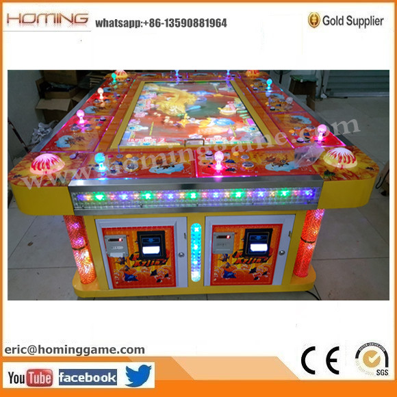 100% English Version Hot Sale USA Game Center Fire Kylin Fishing Game Machine & Fire Kylin Plus Fishing Game Machine (eric@hominggame.com)