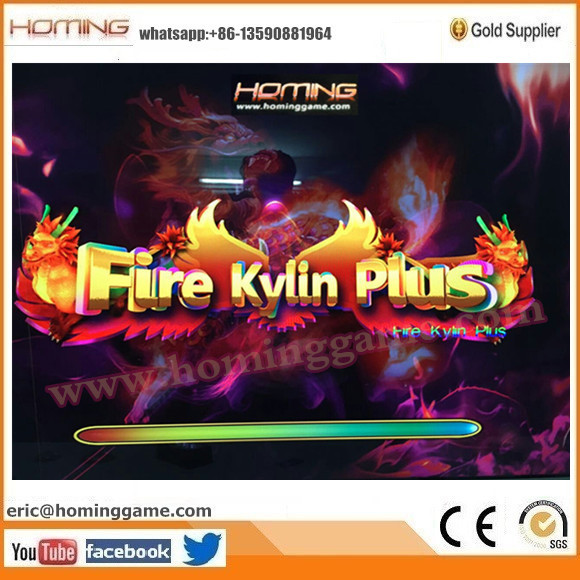 100% English Version Fire Kylin Fishing Game Machine & Fire Kylin Plus Fishing Game Machine From HomingGame