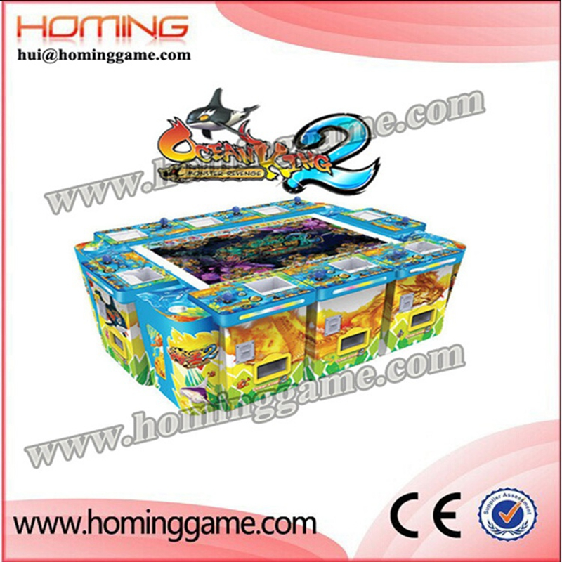 2016 Latest IGS ocean king 2 fishing game machine,shooting fish game of ocean king 2 ocean monster