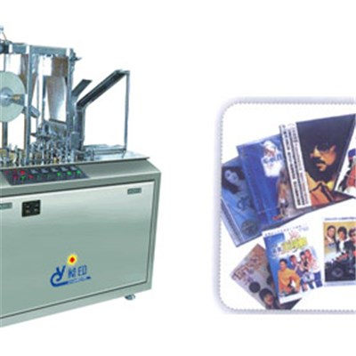 CD Box Overwrapping Machine