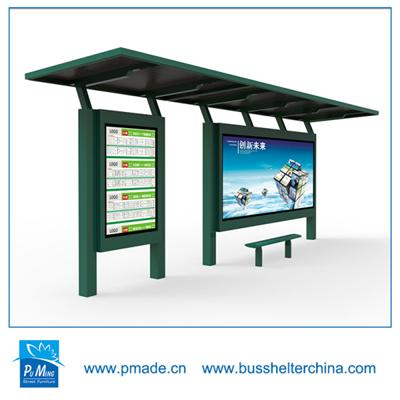 Outdoor Round Bench Bus Stop Best Price Bus Stop Shelter / Bus Stop Station