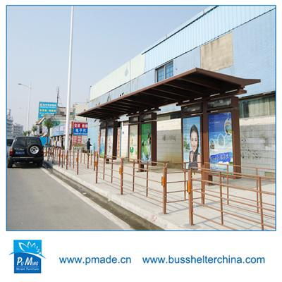Bus Stop Shelter /Outdoor funiture bus stop shelter
