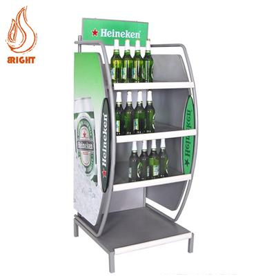 Metal Beer Display Rack