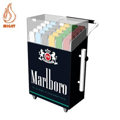 Metal Cigarette Trolley