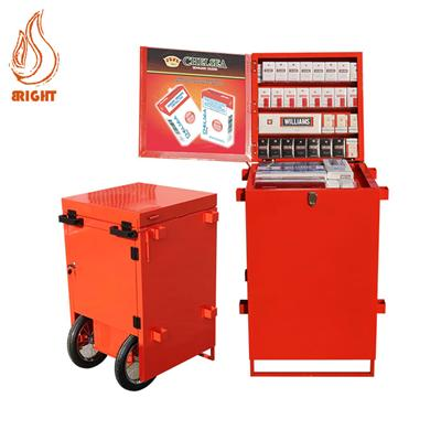Outdoor Vending Trolley