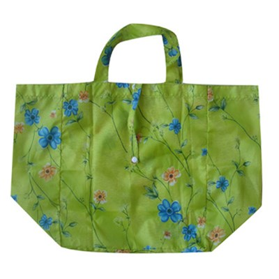 Green Promotional Bag Foldable Bag Tote Bag