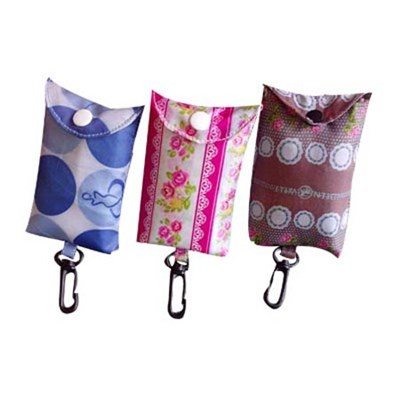 Promotional Bag Foldable Bag With Key Chain