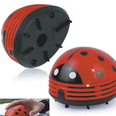 Beetle Ladybug Cartoon Animal Mini Desktop Vacuum Desk Dust Cleaner(M308)