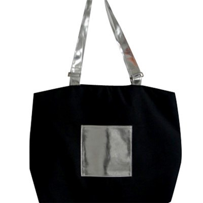 Brief Canvas Tote Bag With Large Capacity