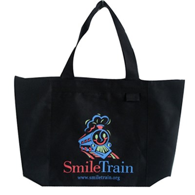 Smile Train Printed Tote Bag