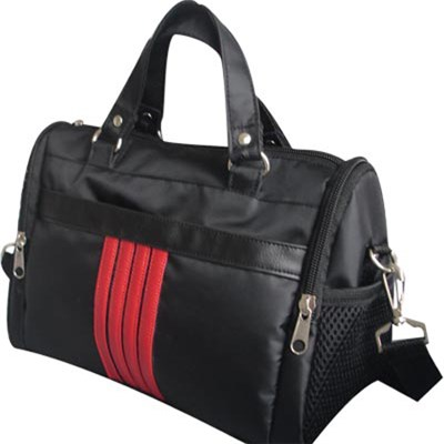 Special Round Tote Bag With Two Side Pockets And Back Pocket And A Large Zipper