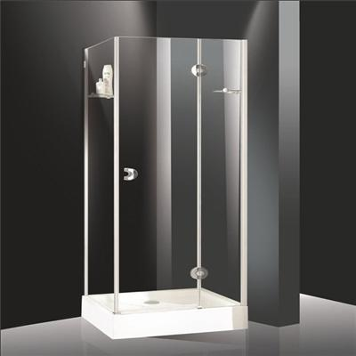 Frameless glass shower room 08
