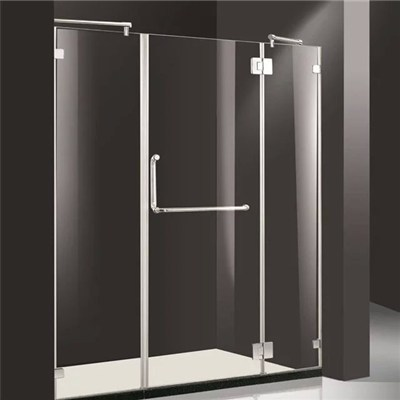 Frameless tempered glass shower cubicles enclosure 07