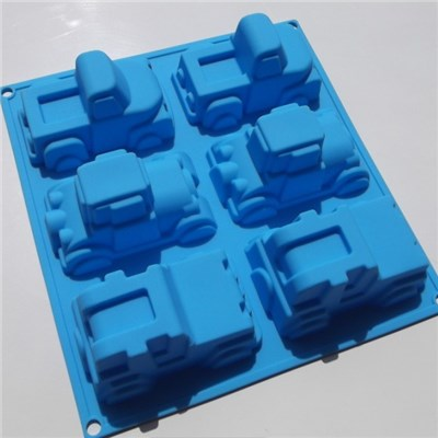 Car Shaped Silicone Soap Mold