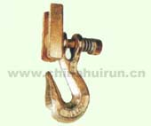 CLEVIS GRAB HOOK WITH SPRING AND LATCH Zinc Plated Or Yellow Chromated